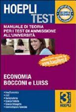 Hoepli test. Vol. 3: Manuale di teoria per i test di ammissione all'università.