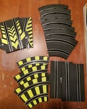 Lot of 14 SLOT CAR RACE TRACK PIECES