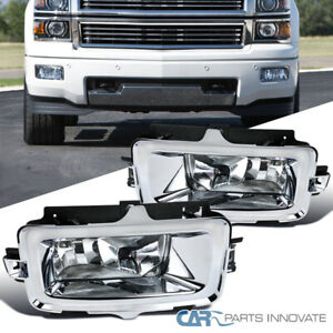 For 14-15 Chevy Silverado 1500 Pickup Fog Lights Front Bumper Lamps Pair+Switch