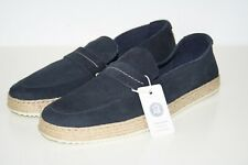 ESPRIT Loafer aus softem Velourleder navy blau Gr. 40