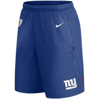 New 2020 NFL Nike New York Giants Coach Performance Dri-FIT Training Shorts
