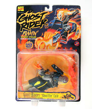 Ghost Rider's Flamin' Stunt Cycles w/ Rip Cord Action Ghost Fire Cycle, CLEAN