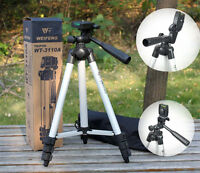 Light Weight WT-3110A Adjustable Digital Camera Cellphone Tripod Stand For DSLR