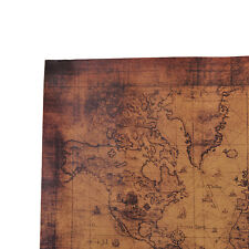 Large Vintage Style Retro Paper Poster Globe Old World Map Gifts 72x51cm Wp