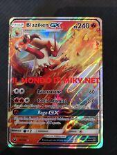 Blaziken GX Mazzo Pokemon Deck Fuoco Precostruito Avanzato+pdeck+copricards