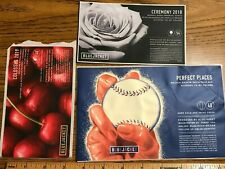 (8) Micro Craft Beer Labels sticker Bluejacket Perfect Place Baseball Rain Light