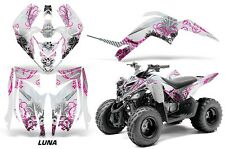 Yamaha Raptor 90 AMR Racing Graphic Kit Wrap Quad Decals ATV 2009-2015 LUNA PINK