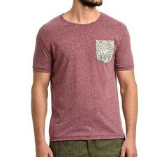 T-shirt uomo MARLBORO CLASSICS cotone viola manica corta MCS08