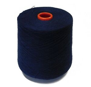 PURE CASHMERE YARN 2/36 Nm 2-ply - 100g cones of BlackBerry - Spun in the UK