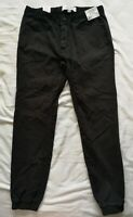 TOPSHOP Men's Black Stretch Skinny Trousers Size W34 L32 New With Tags