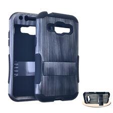 KoolKase Hopper Hybrid Silicone Cover Case for Samsung Galaxy J1 Wood Gray