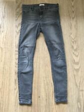 River Island Cotton/Polyester/Elastane Mid Rise Jeans for Women