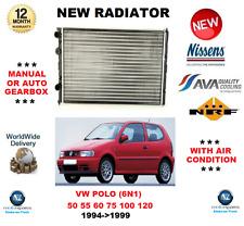 para VW POLO 6n1 50 55 60 75 100 120 1994- > 1999 radiador Calidad OE
