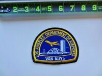 Los Angeles Department of Airports Van Nuys LAX Patch Theme Building California