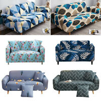 L shape 1/2/3/4 Seater Chair Cover Stretch Elastic Slipcovers Sofa Couch Cover