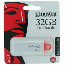 Memoria Usb Kingston 32GB DataTraveler G4 32G DTIG4 USB 3.0 / 2.0 Pen Drive