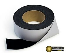 "2"" x 33ft Projector Screen Border Tape Material Black Velvet Felt - DeepBlack"
