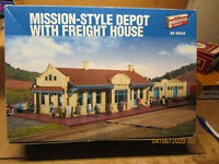 Walthers #933-2924 Mission-Style Depot with Freight House Plastic Model Kit