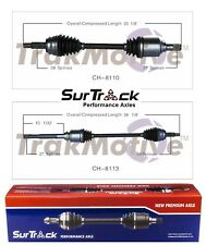 For Jeep Compass Patriot Dodge Caliber Pair of Front CV Axle Shafts SurTrack Set