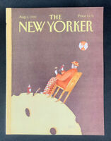 COVER ONLY ~ The New Yorker Magazine, August 6, 1990 ~ Victoria Roberts