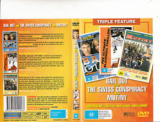 Bail Out-1989-David Hasselhoff/The Swiss Conspiracy/Mutiny-Movie-DVD