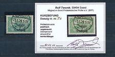 Danzig 1,25 Mark Postamt 1920 gute Farbe Michel 9 b Befund (S14288)