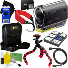 Sony HDR-AS20 Action Video Camera with Wi-Fi & HD 1080p Video + 8pc 16GB Acc Kit
