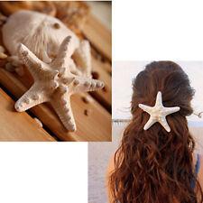 2* Chica pinza Horquillas pelo estrella mar Tocado Clip de cabello regalo novia