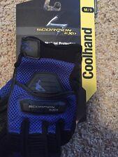 Scorpion Cool Hand Men's Gloves Blue Medium Brand New