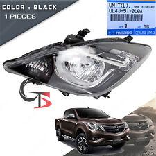 Front Head Lamp Light LH Black Genuine Trim Fits Mazda BT-50 Pickup 2016 - 2017