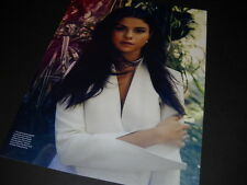 SELENA GOMEZ wearing wite with arm crossed 2015 PROMO POSTER AD mint condition