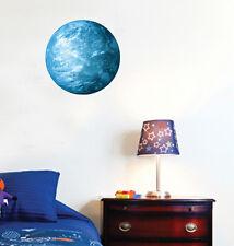 Glow Dark Earth Blue Wall Stickers Decoration Decal Home Art Mural 30cm x 30cm