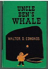 Uncle Ben's Whale by William Gropper 1955 Rare Vintage Book! $