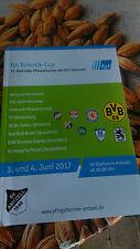 Programm Pfingst Turnier Amtzell TOP 2017  Borussia Dortmund !!!!