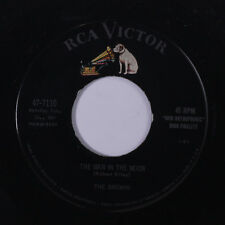 BROWNS: The Man In The Moon / True Love Goes Far 45 Country