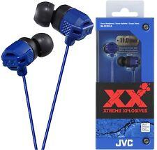 JVC HA-FX102 BLUE In-Ear Headphones Extreme Bass Original / Brand New