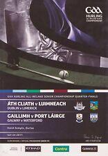 GAA 2011 All-Ireland Senior Hurling Q.F. Dublin v Limerick & Galway v Waterford