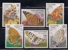 Cambodia  1999   Sc # 1825-30  Butterflies    MNH  OG   (1341)