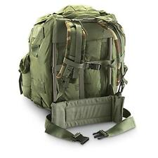 US Army ALICE Large Field Pack OD Green w/ Frame, Straps, Belt USGI used gd