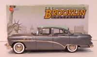 Brooklin 1/43 Scale BRK180A  - 1954 Buick Special Sedan Lido Green/Gull Gray