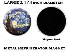 M125 Vincent Van Gogh Starry Night LARGE Metal Refrigerator Magnet