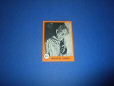 HORROR MONSTERS card #123 Nu-Cards 1961 orange series monster sf movies