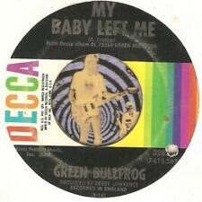 GREEN BULLFROG MY BABY LEFT ME THREE DOG NIGHT GROUP GARAGE ROCK 45 RPM RECORD
