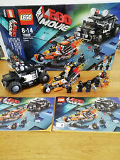 LEGO THE LEGO MOVIE Super Cycle Chase (70808) complete set with instructions