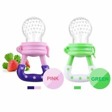 Baby Food Pacifier Fresh Food Feeder Teething toy Fruit Teether for 6-12 months