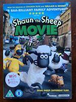 Shaun The Sheep Movie DVD 2015 Aardman Animato Famiglia Caratteristica W/Fodera