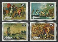 NIUE QE11 1979 CAPT COOK SET MINT