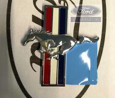 NEW OEM FORD MUSTANG RUNNING HORSE EMBLEM FENDER DRIVERS SIDE LH 6R3Z-16228-B
