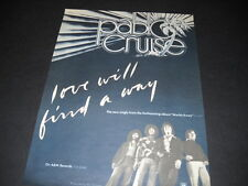 Pablo Cruise 1978 Promo Poster Ad for Love Will Find A Way mint condition