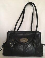 COLORADO Black Leather Tote/Shoulder Bag / Handbag